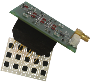 6 way RFID Chip Module Test Unit